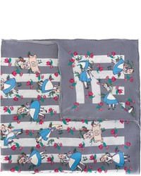 Alice in wonderland print scarf medium 425881