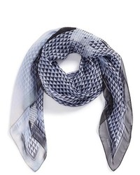 Proenza Schouler Photo Gate Print Silk Scarf
