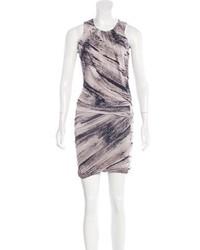 Sleeveless abstract print dress medium 5422906