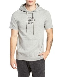 Reigning Champ Speed Versus Power Trim Fit Cut Off Hoodie