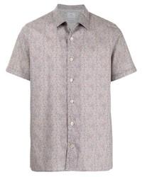 PS Paul Smith Leaf Print Shirt