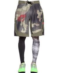 Reebok Cross Fit Camo Printed Cordura Shorts