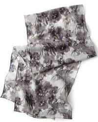 Calvin Klein Watercolor Bouquet Silk Scarf