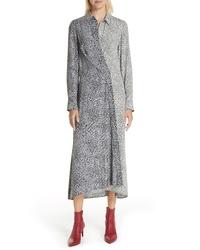 Rag & Bone Karen Cheetah Print Silk Dress