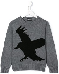 DSQUARED2 Kids Bird Print Sweater