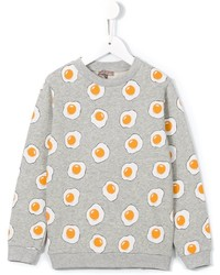 Emile et Ida Fried Eggs Print Sweatshirt