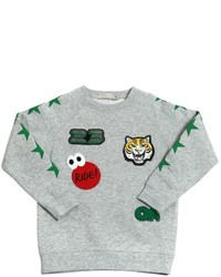 Stella McCartney Organic Cotton Sweatshirt With Patches