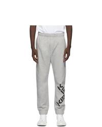 Kenzo Grey Fleece Big X Lounge Pants