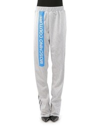 Moschino Print Sweatpants
