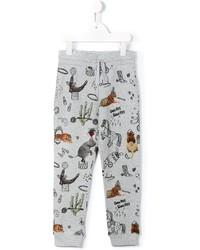 Stella McCartney Kids Circus Print Track Pants