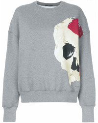 Alexander McQueen Abstract Skull Print Sweatshirt
