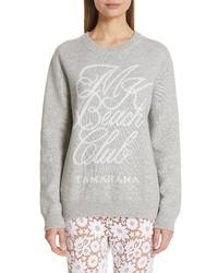 Michael Kors Beach Club Cotton Cashmere Sweatshirt