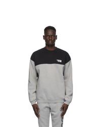 Vetements Black And Grey Cut Up Logo Sweatshirt