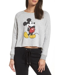 David Lerner Disney Mickey Pixel Sweatshirt