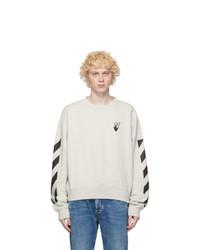 Off-White Grey Agreet Sweatshirt