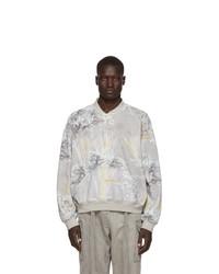 Fear Of God Grey Henley Sweatshirt