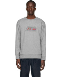 A.P.C. Grey James Sweatshirt