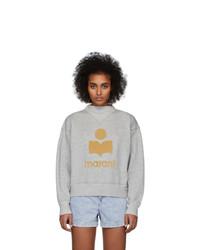 Isabel Marant Etoile Grey Moby Inactif Sweatshirt