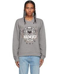 Kenzo Grey Original Tiger Sweatshirt