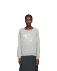 MAISON KITSUNE Grey Palais Royal Sweatshirt