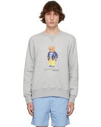 Polo Ralph Lauren Grey Polo Bear Sweatshirt