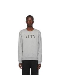 Valentino Grey Vltn Sweatshirt