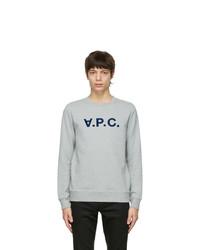 A.P.C. Grey Vpc Sweatshirt