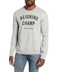 Reigning Champ Gym Logo Sweatshirt