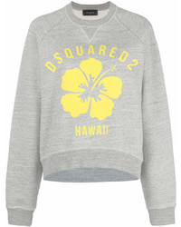 Dsquared2 Hawaii Flower Print Sweatshirt