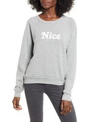 Project Social T Naughtynice Reversible Sweatshirt