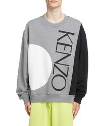 Kenzo Oversize Colorblock Sweatshirt