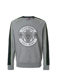 Plein Sport Panel Sleeve Sweatshirt