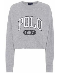Polo Ralph Lauren Printed Cotton Jersey Sweatshirt