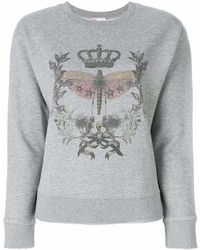 RED Valentino Printed Front Sweatshirt