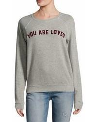 Amo Raglan Printed Sweatshirt