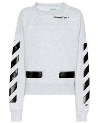 Off-White X Champion Printed Sweatshirt