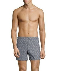 Burberry Grimsby Print Swim Shorts