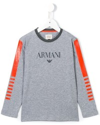 Armani Junior Logo Top