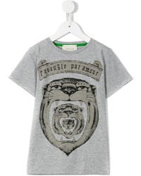 Gucci Kids Tiger Print T Shirt