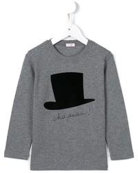Il Gufo Hat Print T Shirt