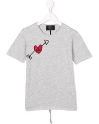 Lost And Found Kids Dad Tattoo Print T Shirt