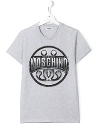Moschino Kids Logo Print T Shirt