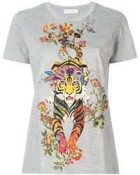 Etro Tiger Print T Shirt