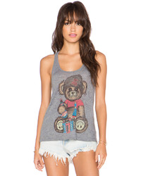 Lauren Moshi Nancy Color Juice Bear Tank