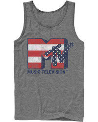 Novelty T Shirts Fifth Sun Merica Tv Graphic Tank Top