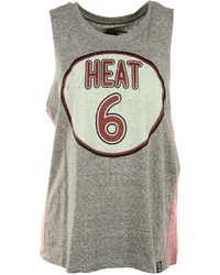 Unk Sleeveless Miami Heat Muscle T Shirt