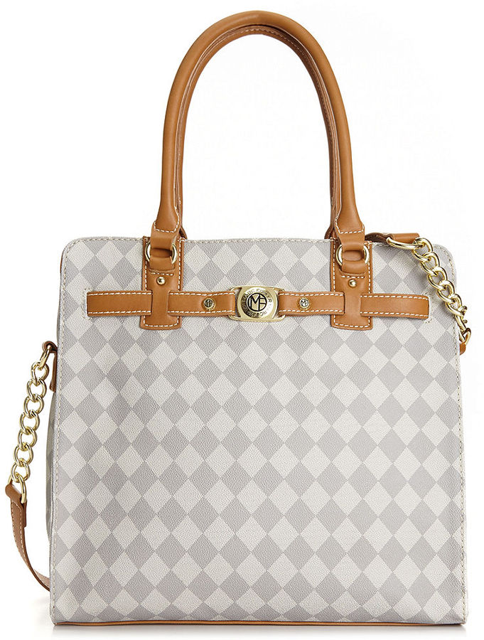 Bags Marc Fisher Checkmate Belted Tote
