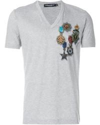 Medal print t shirt medium 5144354
