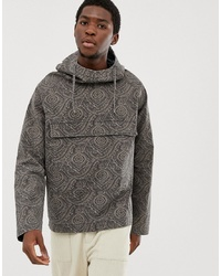 ASOS DESIGN Windbreaker In Paisley Print