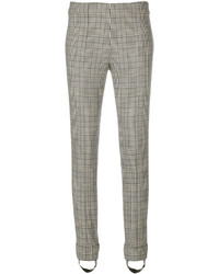 Ermanno Scervino Plaid Print Skinny Trousers